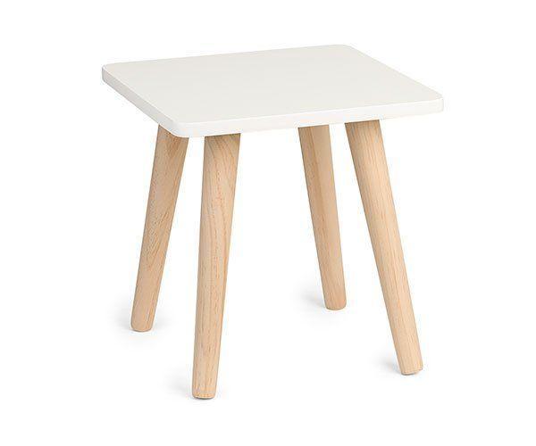Tavolino bianco 30 x 30 x 30,5