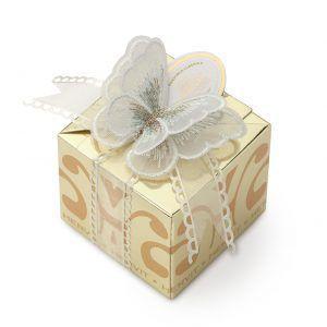 box farfalla bianca