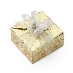 box con farfalla