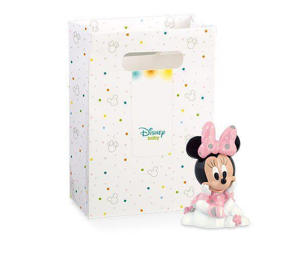Personaggio Minnie col. rosa in resina h. 9 cm c/scatola 69507D