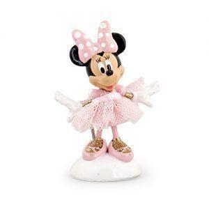 Minnie ballerina col. rosa h. 6 cm