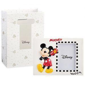 Portafoto Mickey in resina 15 x 11 cm c/scatola 69564D